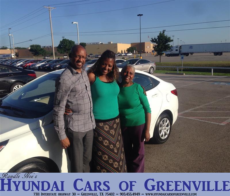Hyundai Greenville Sc: #HappyAnniversary To Margaret Hawkins On Your 2013 #Hyunda