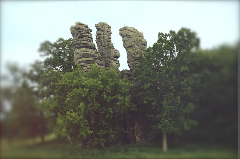 three chimneys. the sleeping place of the gods.