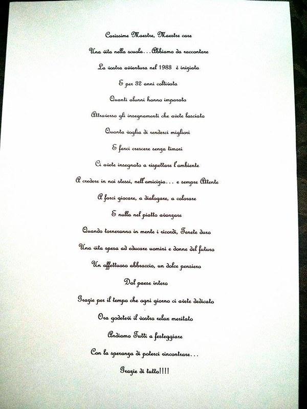 Sernio In Festa Per Il Pensionamento Delle Maestre Olga E Franca