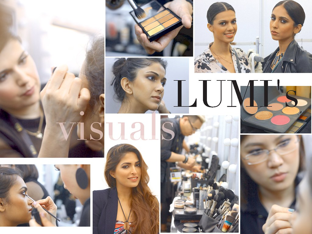 IIFA Lumi Pick mac makeup collage