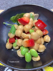 ethnic bean salad