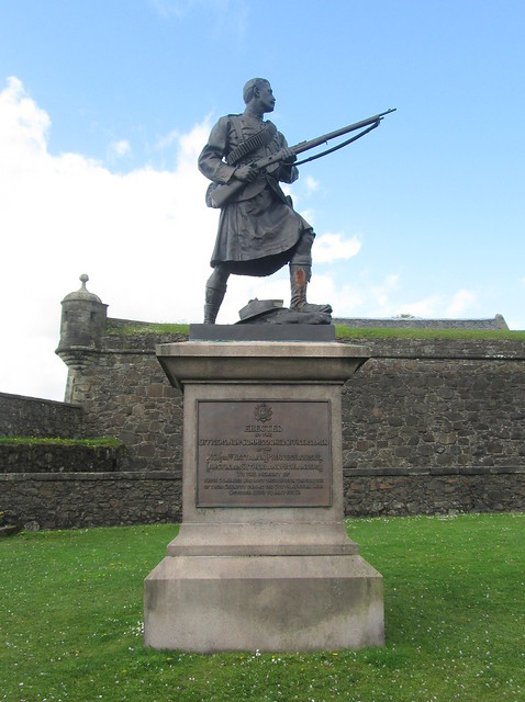 Boer War Memorial, Stirling Castle Esplanade