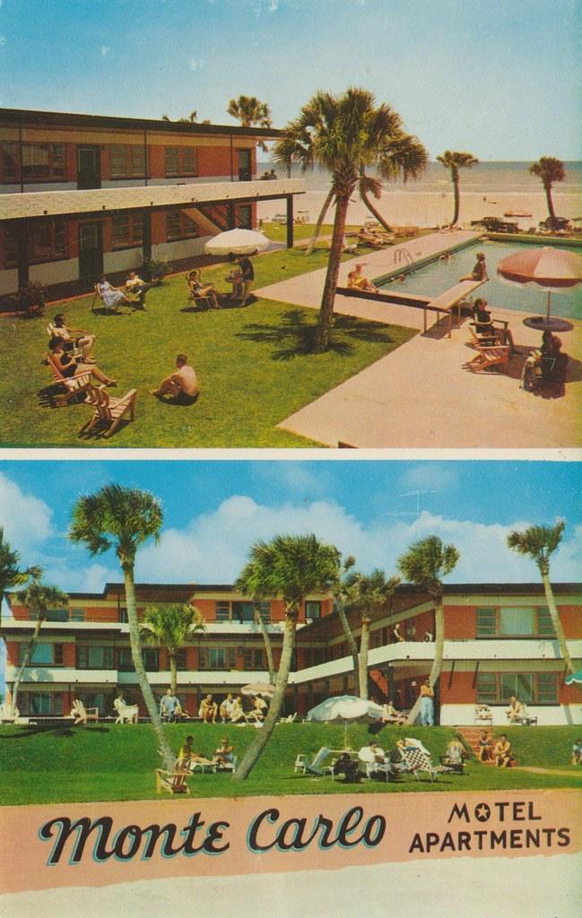 Monte Carlo Motel - Daytona Beach, Florida