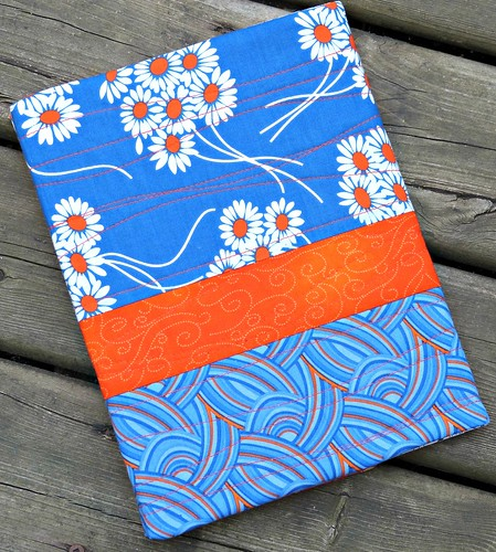blue notebook front