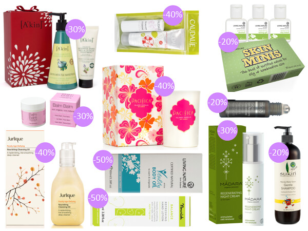 Weekly discounts and free organic beauty gifts #25