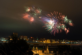 Canada Day Fireworks - 1 | by Adam Curran