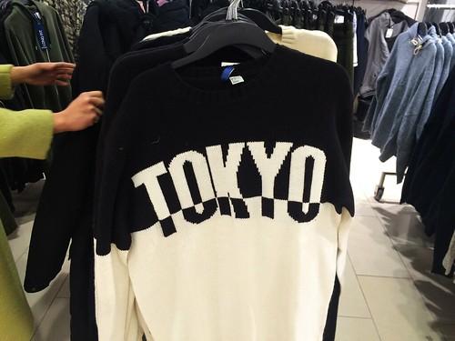 Tokyo Sweater at H&M (Jan 22 2016)