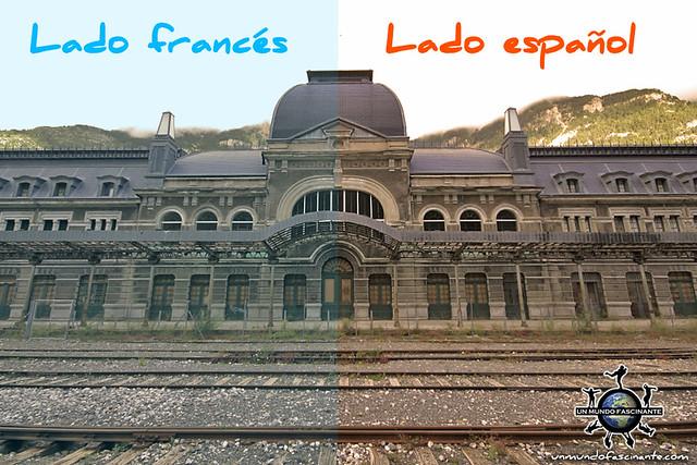 Estación de Canfranc, Aragón. España.