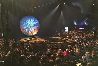 Cirque du Soleil - Luzia stage