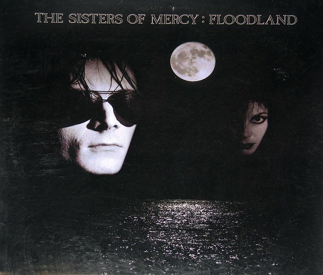"Sisters of Mercy Floodland 12"" vinyl LP"