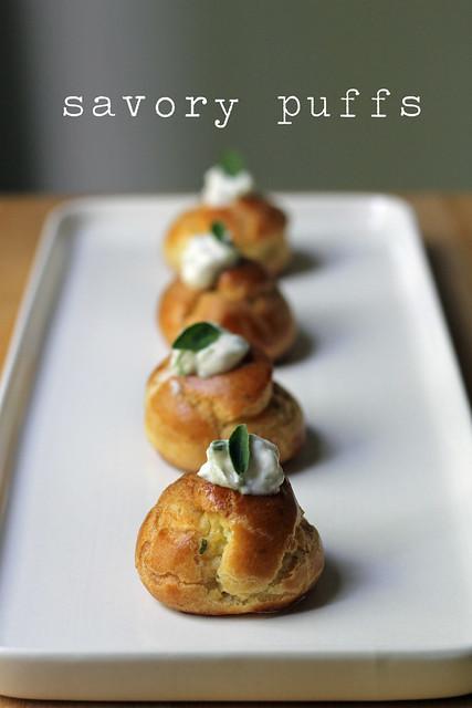 savory puffs