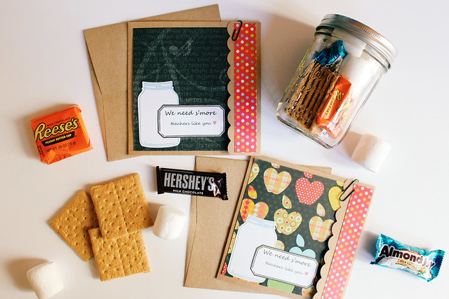 """We need s'more teachers like you"" gift idea"