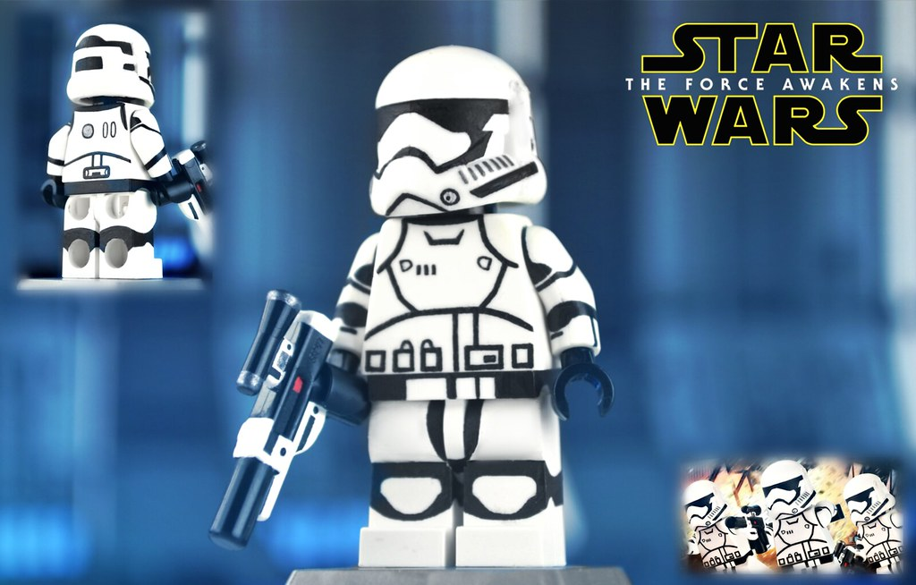 LEGO Star Wars : First Order Stormtrooper   Totally forgot t…   Flickr