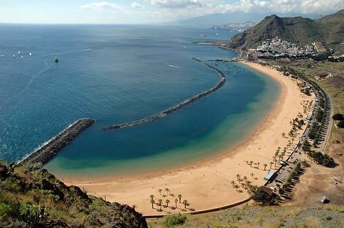 Playa de las Teresitas. Tenerife. Spain