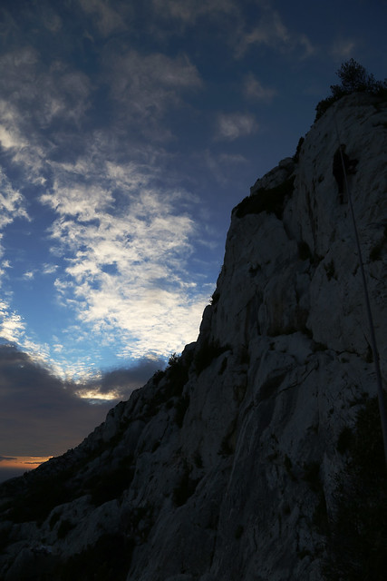 Climbing the Calanques