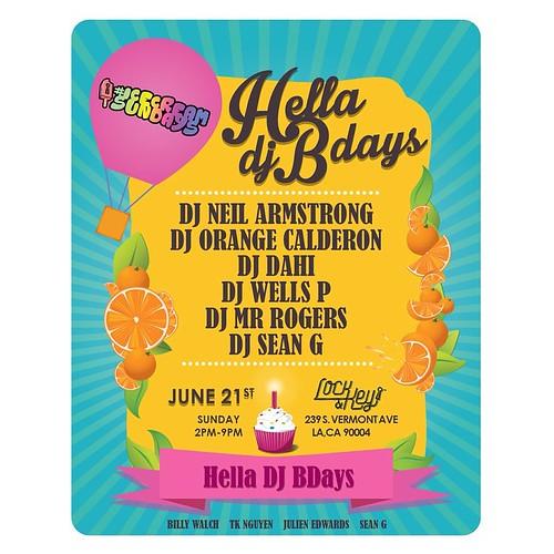 Ice Cream Sundays Hella Bdays Edition