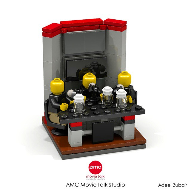 AMC Movie Talk Studio - 8x8 Vignette