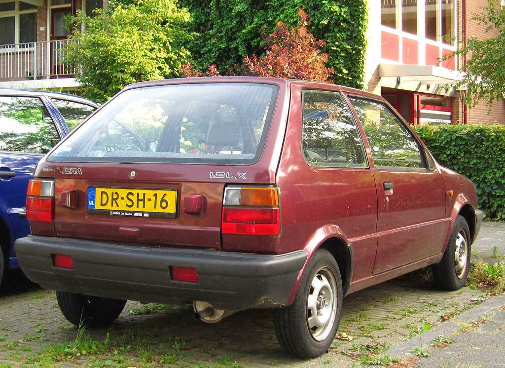 1992 nissan micra 1.2 lx automatic   place: assen with its c…   flickr