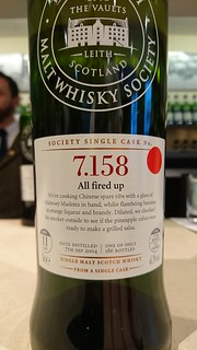 SMWS 7.158 - All fired up