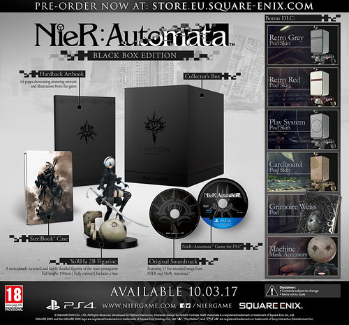 Nier: Automata demo out now, new trailer teases Final Fantasy XIV, Dragon Quest weapons in-game