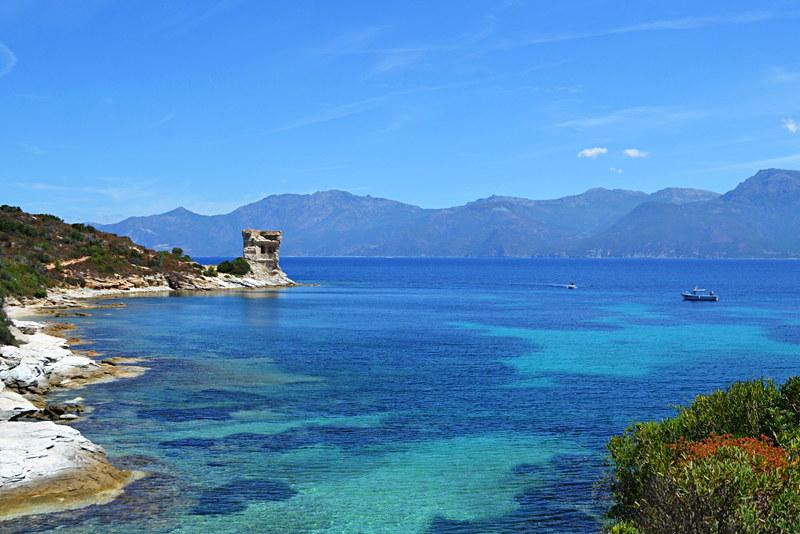 Coastal route, Saint Florent, Corsica
