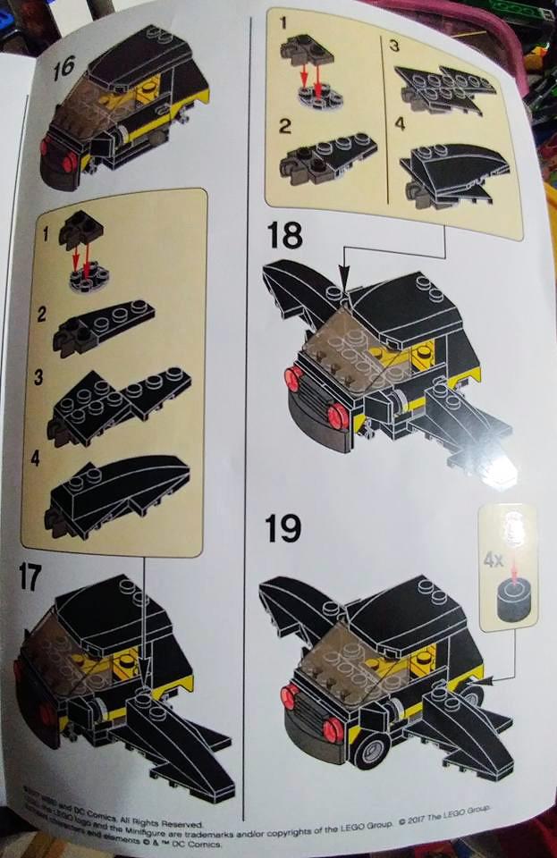 Brickfinder Lego Batman Movie Mini Batmobile Instructions