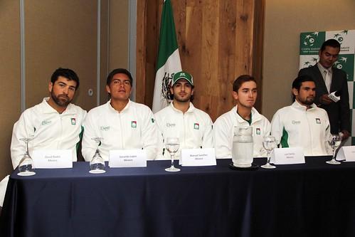 Sorteo Copa Davis, Guatemala-Mex 2017