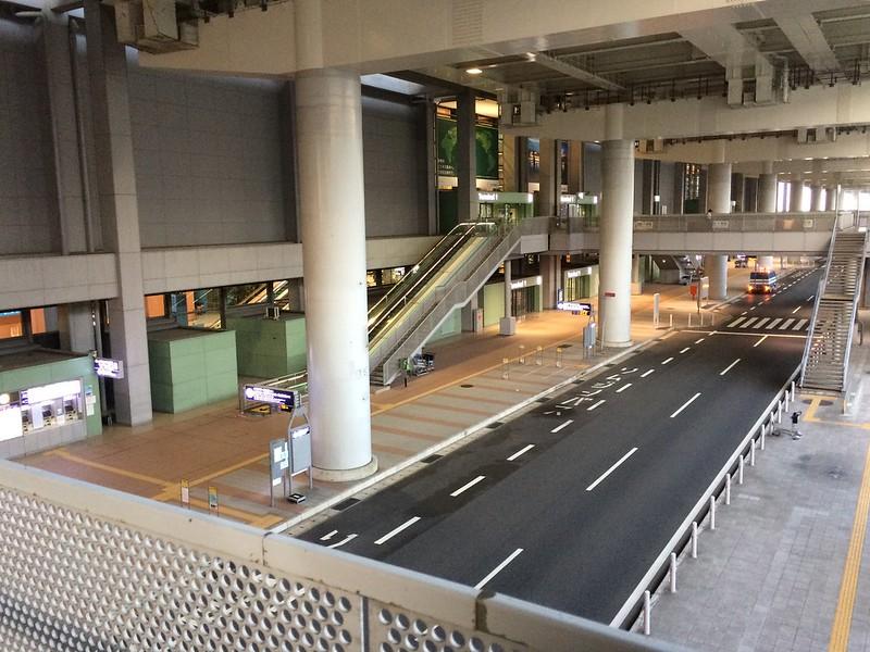 早朝の関西国際空港