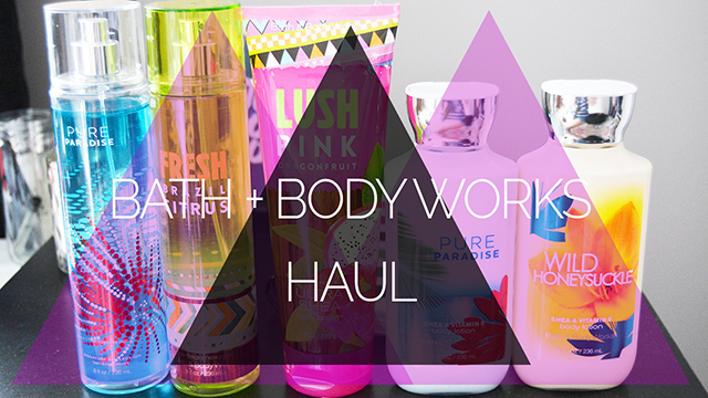 Bath and Body Works Semi-Annual Sale Haul