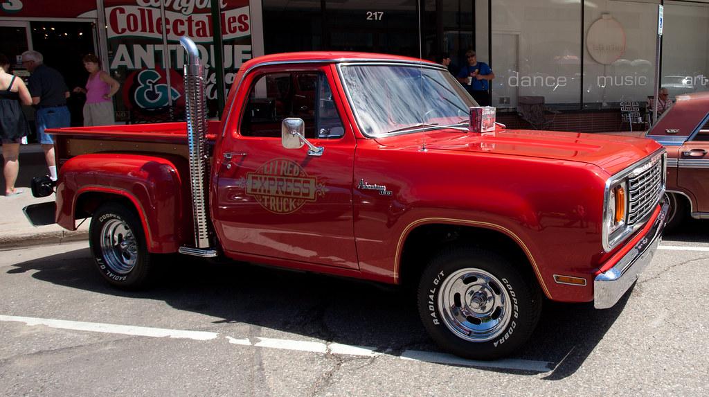 1979 Dodge Lil Red Wagon Pickup Truck | coconv | Flickr
