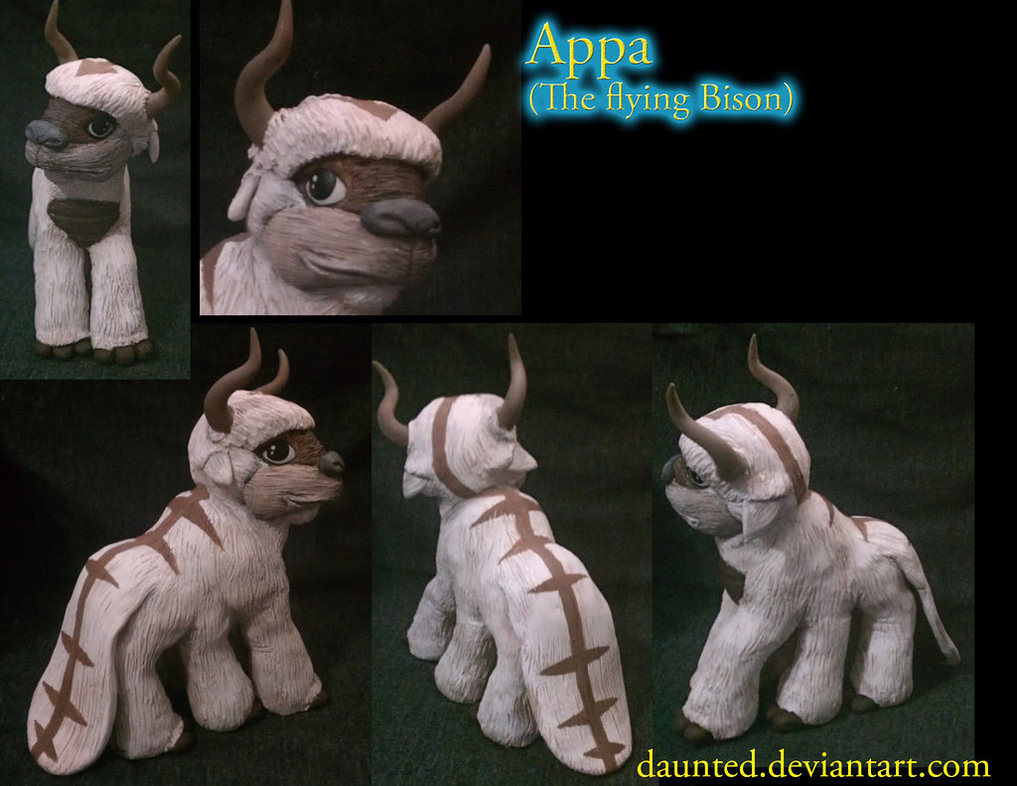 Custom pop culture My Little Pony by daunted - Appa Avatar The Last Airbender