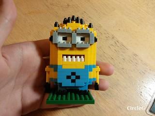 CIRCLEG MINIONS LOZ LEGO 微鑽積木 細過粒米阿 (8)