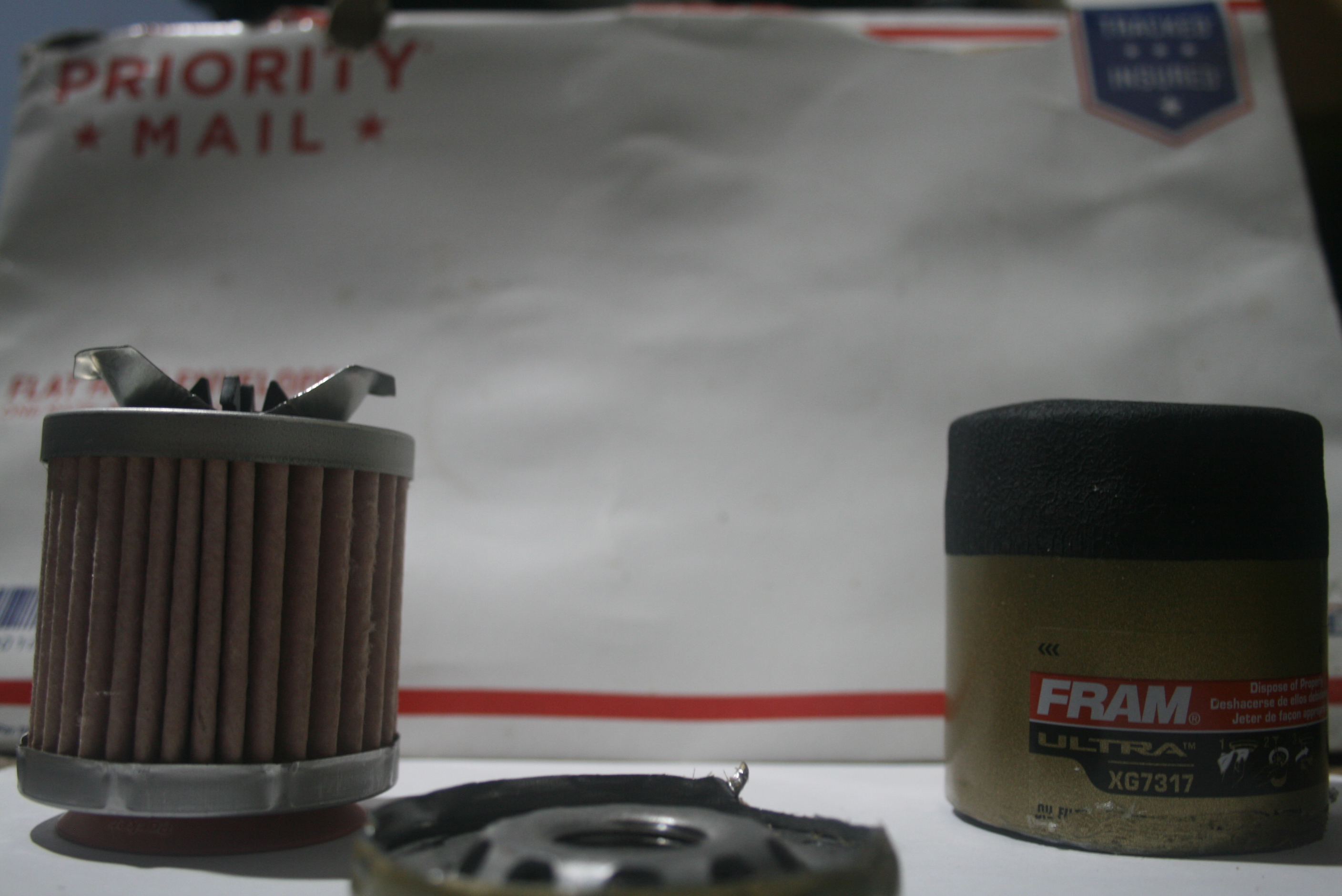 Unused Fram Ultra Xg7317 Cut Open A50053 Date Code Bob Is The Oil Guy Filter Top Fuel Racing Ok Here Are Pics