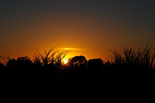 Sunset Before the Fireworks