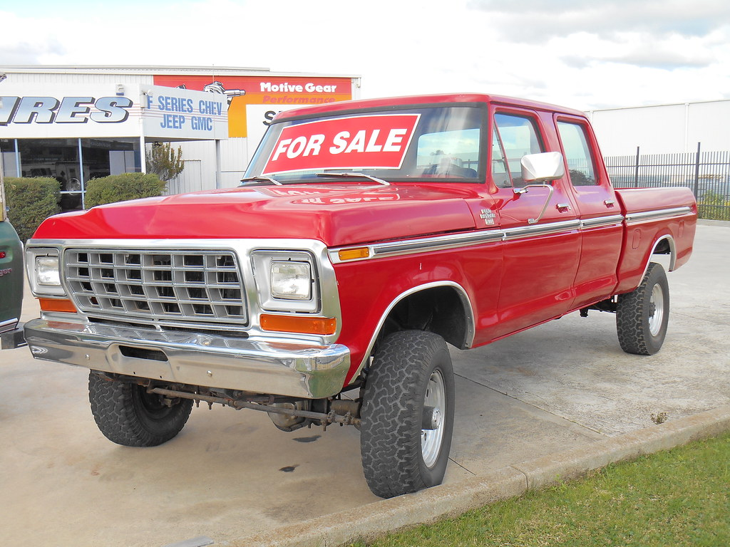 1979 Ford F250 Ranger Crew Cab 4x4 This Is A Rare In Austr Flickr