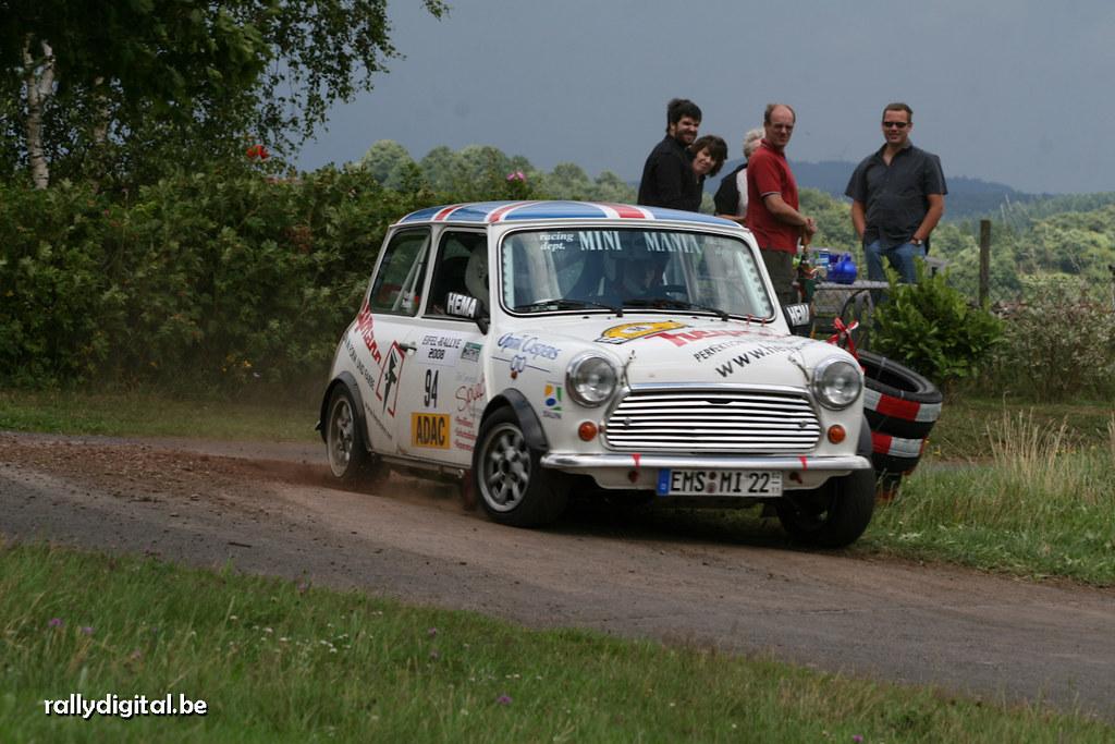 Eifel Rallye 2008 | Werner Andreas - Peters Marco Rover Mini ...