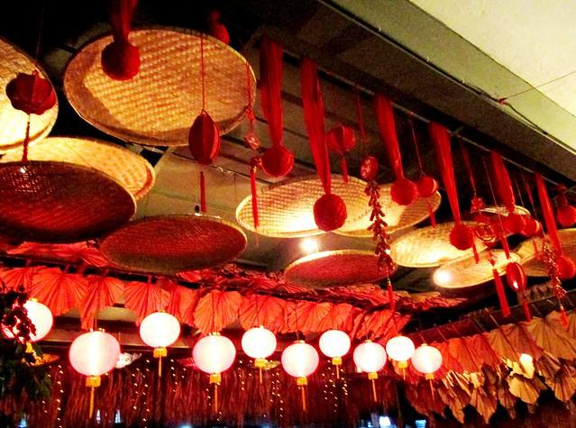 Payung Chinese New Year decor 2