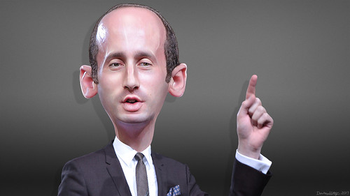 Stephen Miller - Caricature | by DonkeyHotey
