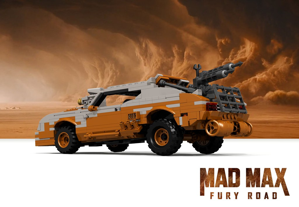 Ford Falcon V8 Interceptor Rebuild Mad Max Fury Road