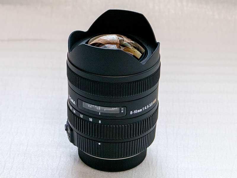 シグマ 8-16mm F4.5-5.6 DC HSM