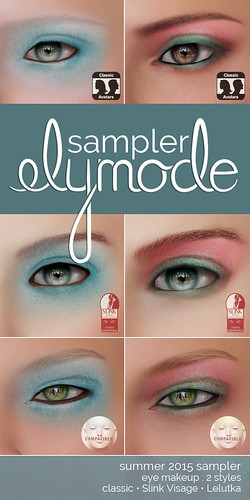 cosmetic sampler for classic, Slink Visage and Lelutka