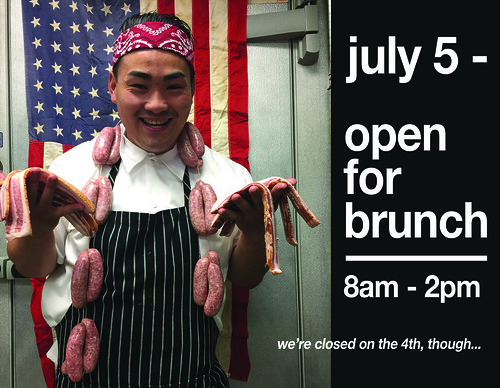open july 5th brunch