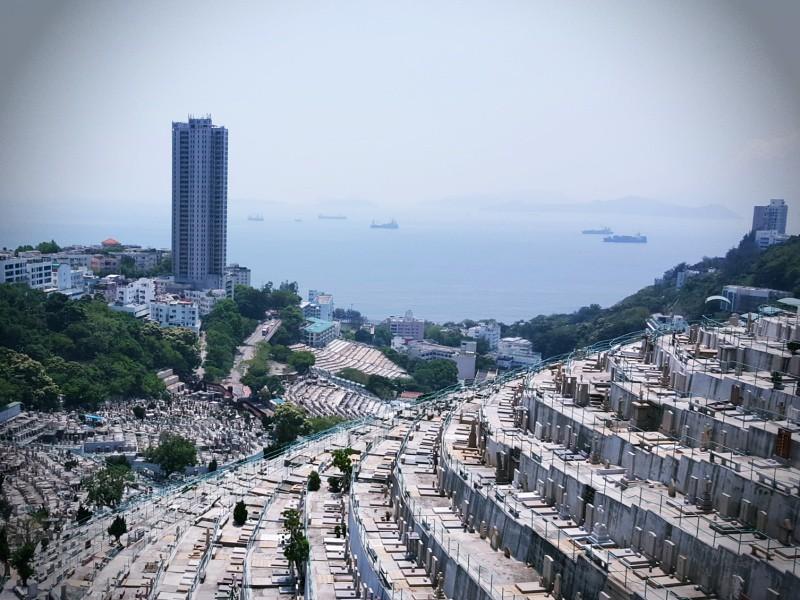 Hong Kong cemetary