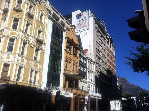 Streets in CBD of Cape Town