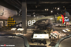 NX14519 42-8205 Big Stud - 345 - USAAF - Republic P-47D Thunderbolt - The Museum Of Flight - Seattle, Washington - 131021 - Steven Gray - IMG_3715