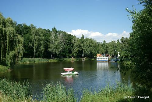 Park Nyvky Lake