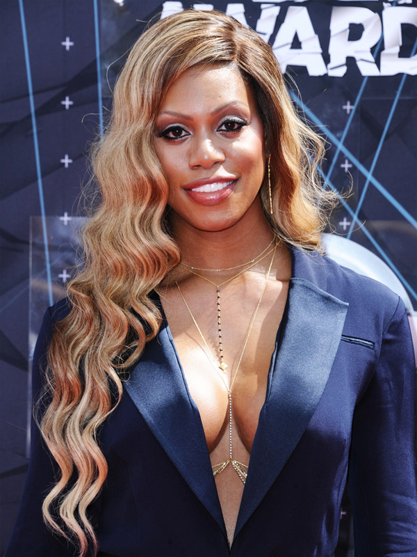Laverne Cox 2015 BET Awards
