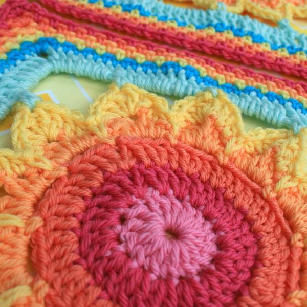 Big Framed Flower 4 Crochet Pattern Blogged At Woolnho