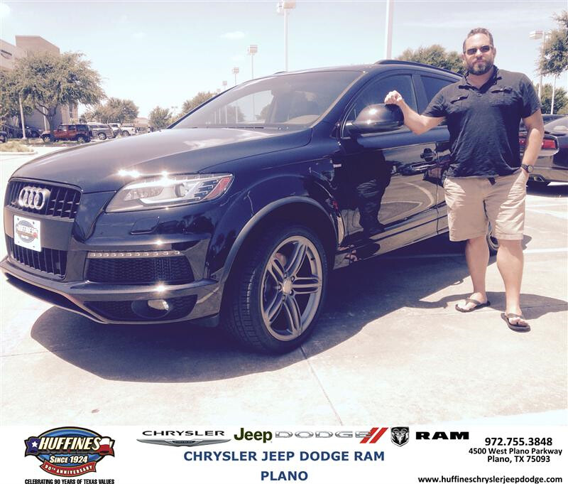 Congratulations To Timothy Segars On Your Audi Q7 From B