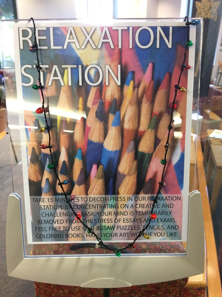 Relaxation Station sign